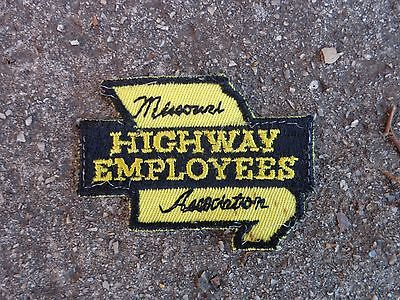 ..........vintage Missouri Highway Employees Association patch