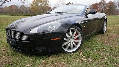 2005 Aston Martin DB9 Volante Convertible 2-Door LOW MILEAGE NEW TIRES RECENT SERVICE CLEAN CARFAX AUTOCHECK STUNNING MAKE OFFER