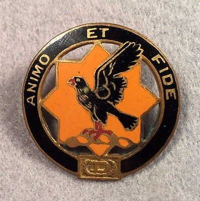 US Army 1st Cavalry Regiment DUI AHD SB DI Pin Badge Unit Crest 277Y