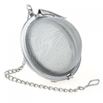 Dia. 2 inch Stainless Steel Spice Tea Ball Strainer Mesh Infuser Herb Filter