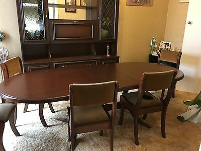 Dining Suite includes matching table, chairs AND Wall unit