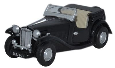 Oxford Diecast MGTC Black 76MGTC004 OO Scale (suit HO also)
