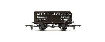 """Hornby Freight Wagon """"City of Liverpool"""" R6598"""
