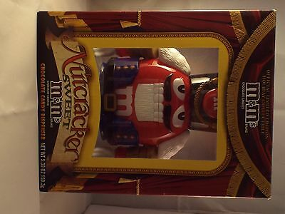 M&M LIMITED EDITION HOLIDAY NUTCRACKER SWEET DISPENSER COLLECTIBLE NIB w/CANDY