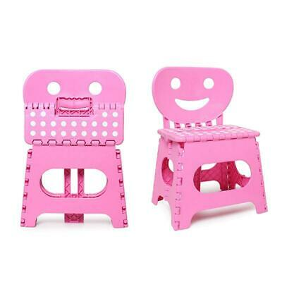 PLASTIC CHILDRENS FOLDING CHAIR kids step stool home