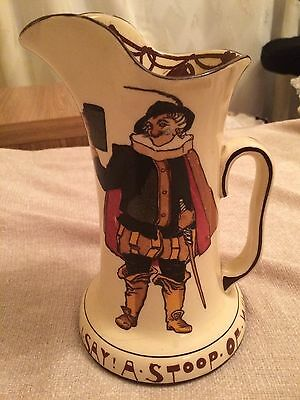 Royal Doulton SIR TOBY BELCH Pitcher Jug D1972 Seriesware Shakespeare