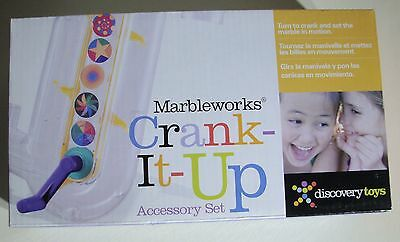 NEW Discovery Toys Marbleworks Crank It Up Accessory Set 3816 Marble Elevator