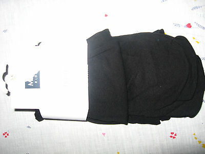 NEW GIRLS CLOTHES M&Co KIDS BLACK OPAQUE TIGHTS 2 PAIRS AGE 5 - 6 YEARS NEW