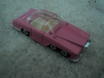 """Thunderbirds Matchbox Lady Penelope FAB1 3"""" Model Pink Car Excellent Condition"""