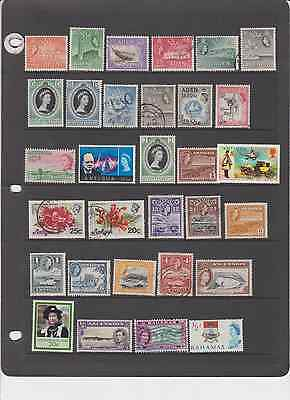 British Colonies Old Some Mint 130 All Different