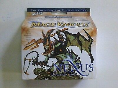 1 Mage Knight 2.0 SEALED booster PACK Nexus miniature