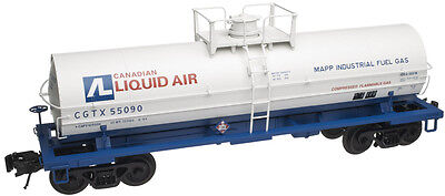 "Atlas ""O"" #3006504-2 Canadian Liquid Air 11,000 Gallon Tank Car #55090 (2 RL)"