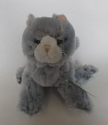 WB3 Silversoft Cat so soft WEBKINZ PLUSH new code