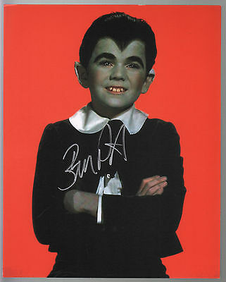 BUTCH PATRICK - EDDIE MUNSTER HAND SIGNED 8x10 COLOR PHOTO of EDDIE Munsters