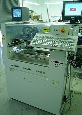 Zevatech Juki 570L with Laser Centering and Feeders - ready to go
