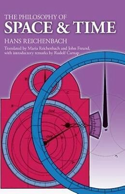 The Philosophy of Space and Time by Hans Reichenbach Paperback Book (English)