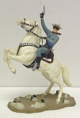 The Lone Ranger and Silver Aurora model Kit 1966 Assembled and Painted