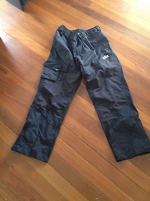Gill Waterproof Sailing Pants - Mens Size L Graphite - Style 4362