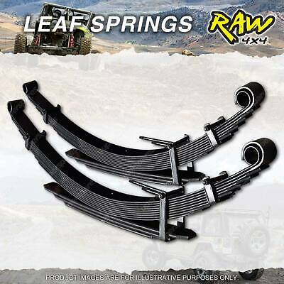 PAIR Rear 40mm RAW 4X4 HD LEAF SPRING FOR FORD COURIER PC PD PE 4WD UTE 87-11/06