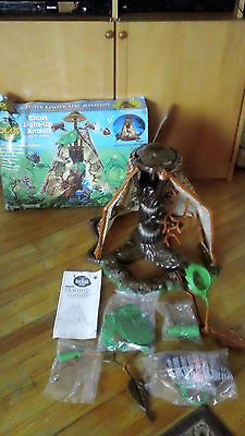 """Bug's Life Giant Lightup Anthill Hugh 22"""" fortress  complete Playset"""
