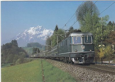 *SWITZERLAND     ( SBB ) 'The Holland - Italy Express' in 1979 at Meggen