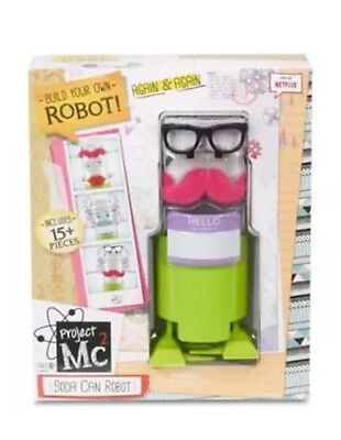 Project Mc2 Build Your Own Soda Can Robot - A Science Kit -  NEW Gift Present