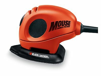 New Black and Decker KA161BC Mouse Detail Sander with Accessories Free P&P
