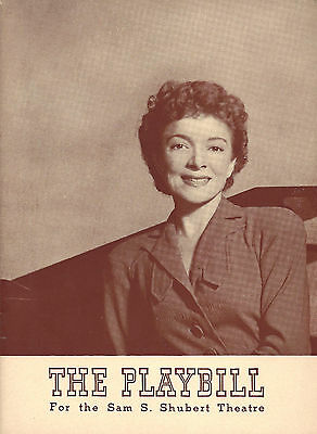 """Helen Hayes """"CANDLE IN THE WIND"""" Lotte Lenya / Maxwell Anderson 1941 Playbill"""