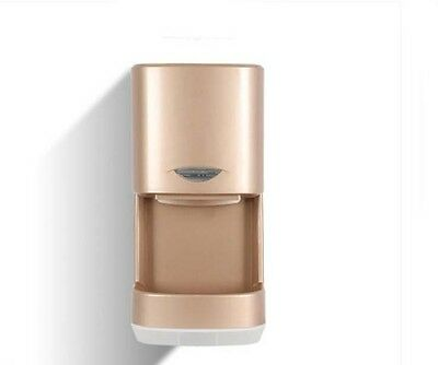 Golden Plastic Commercial Wall Mounted Automatic Induction Hand Dryer Machine