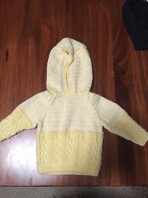 Yellow Hand Knitted Jersey