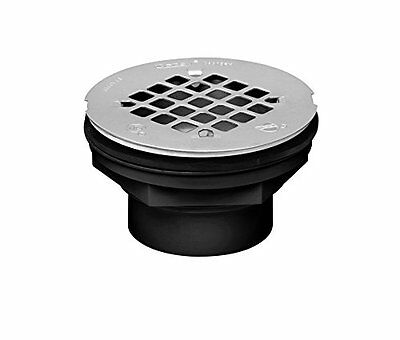 Oatey 42086 101 PS ABS-Solvent Weld Shower Drain with Plastic Strainer, 2-Inch