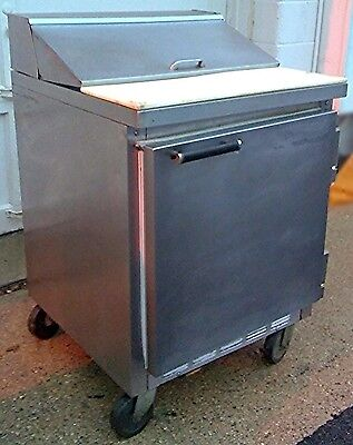 "BEVERAGE AIR SUR27S 27"" Refrigerated Salad / Sandwich Prep Table GREAT FREE SHIP"