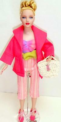 Tonner Tiny Kitty Summer Chic Doll Outfit Jacket Capris Shoes Belt w/Barbie Top