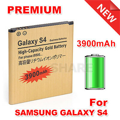 High Capacity 3900mAh Li-ion for Samsung Galaxy S4 Battery Replacement I9500