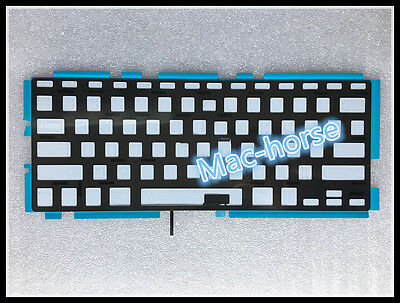 "New US keyboard backlight Backlit For Macbook Pro 13.3"" A1278 2009 2011 2012"