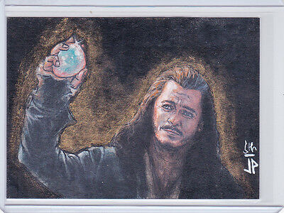 The Hobbit Battle Of The Five Armies Bard The Bowman Sketch By Jason Potratz
