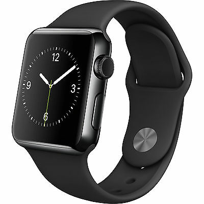 Apple WATCH SPORT 38mm Space Gray Aluminum Case with silicone Band