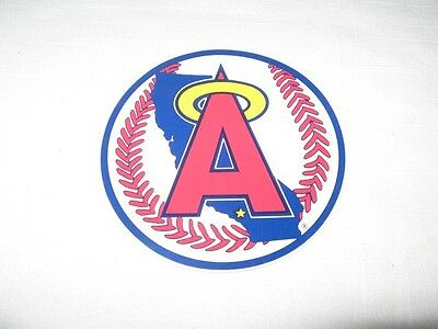 """California Angels Vintage 1970's Decal Sticker 4"""""""
