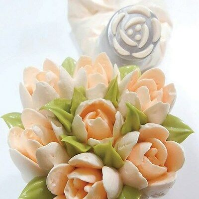 BAKELESS Flower Piping nozzle Tulip or Magnolia