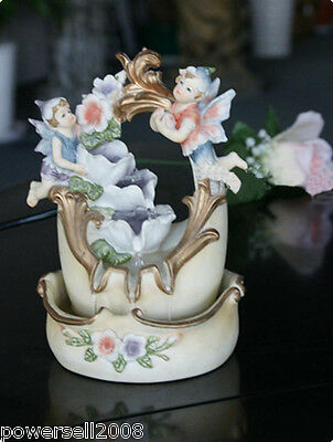 New Fashion Home Decorative 14*13*20cm Resin Crock Flowing Water Fountain
