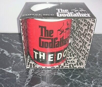 The Godfather Movie -The Don Coffee Mug  New In Packaging
