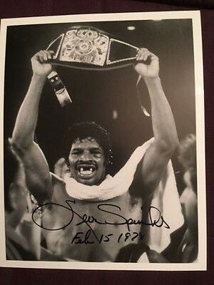 Leon Spinks Boxing Autographed Signed Photo IP