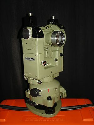 Wild Heerbrugg T2 Military Theodolite With Case - Clean Surveyors Transit
