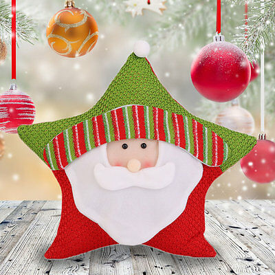 Christmas Candy Five-star Pillow Holiday Decorations Commodity For Christmas SM