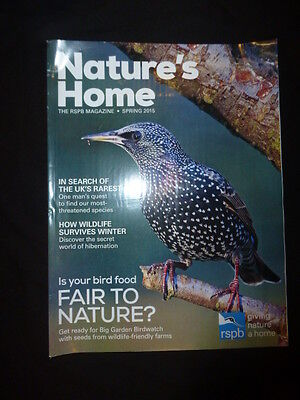 Nature's Home, Spring 2015, The RSPB magazine