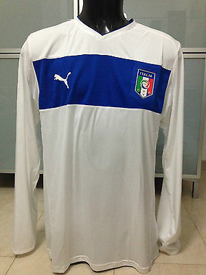 MAGLIA SHIRT TRIKOT PUMA ITALIA ITALY 2012 PLAYER ISSUE AWAY tg XL NUOVA (BNWT)