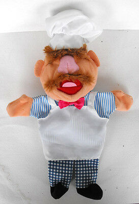 RARE Disney MUPPETS SWEDISH CHEF Hand Puppet near MINT The Netherlands