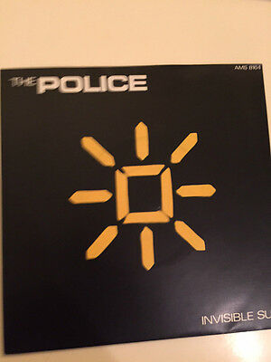 THE POLICE INVISIBLE SUN 7 inch Vinyl PICTURE SLEEVE 1981 UK