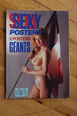 Rare SEXY POSTERS 2 poster Geant / Photo Nu Erotique Curiosa