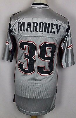 Maroney #39 New England Patriots Nfl American Football Jersey Mens Medium Reebok